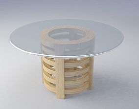 5 Rings Table 3D
