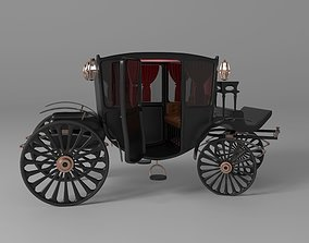 3D asset realtime Vintage Luxury Carriage