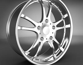 wheel Wheel Rim 3D