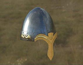 helmet 3D rigged shield