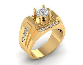 1027 Korea Diamond Ring 3D print model
