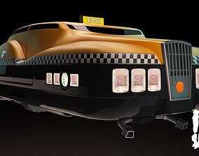 3D TAXI from FIFTH ELEMENT