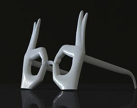 3D print model ok glasses