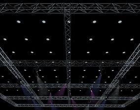 3D Big Square Truss-Stage Lights