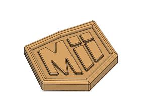 Mii Fighter Belt and Buckle Smash 3D printable model