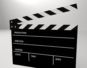 Clapperboard 3D