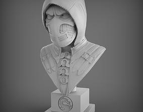 3D printable model Scorpion Bust