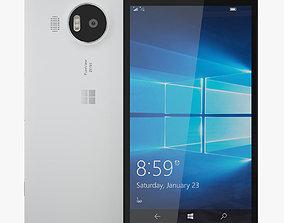 3D model Microsoft Lumia 950 XL White