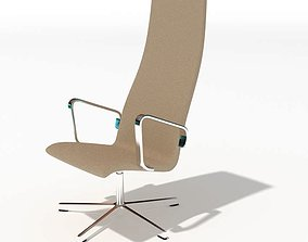 3D High Tan Chair