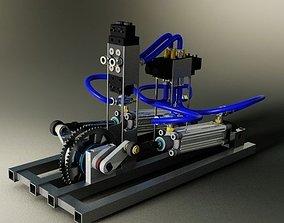 Pneumatics engine 2 0 3D model