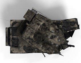3D model Tank Destroyed