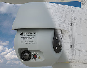 RQ-11 b Raven Unmanned Aerial Vehicle 3D model