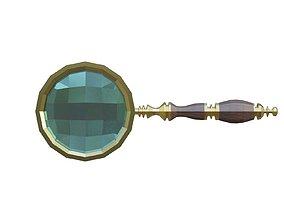 Magnifier magnifier 3D model VR / AR ready
