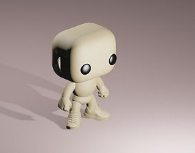 Custom Pop Male 3D Printable