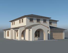 Family House 003 3D model