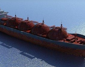 3D LNG Tanker