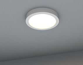 3D asset recessed halogen spotlight suitable for 2