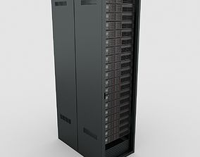 3D model comms Data Server Rack
