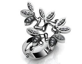 Silver Ring BK295 3D print model