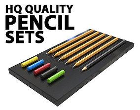 model Pencil Sets 3D