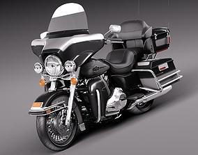 Harley-Davidson Electra Glide 2013 3D