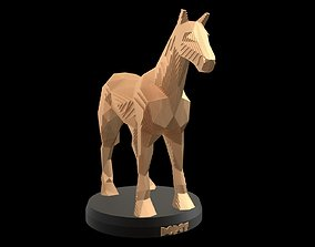 Parametric Horse 3D model