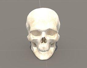ring 3D model Skull
