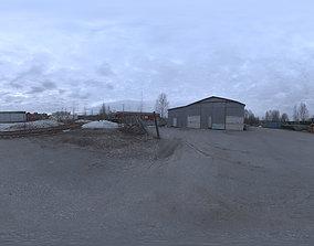 Industrial Area HDRI - Dusk Desolation 3D
