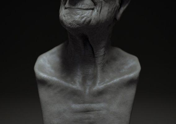 Old Man Sculpt Study