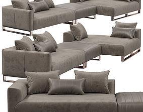 Longhi Fold sofa 3D model
