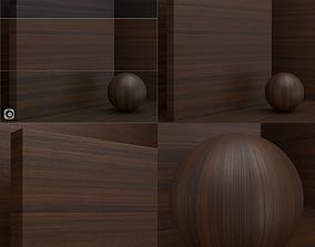 Wood material - Ebony seamless 3D