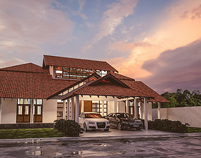 3D Traditional house