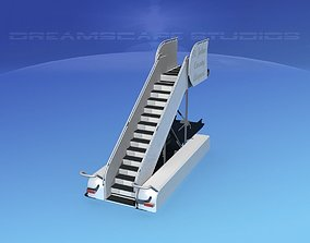 Airport Stairs 2 3D model
