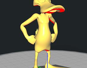 Daffy - Freestanding Duck 3D print model