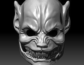 Werewolf mask 3D printable model