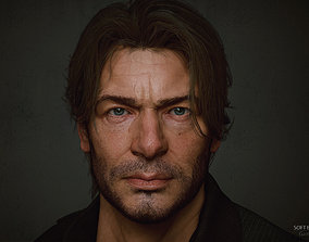 3D model Realistic High detailed Face