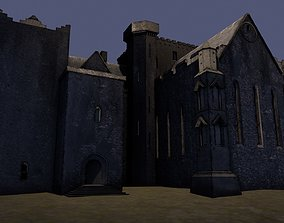 3D asset Iconic fortress at the The Rock Of Cashel in