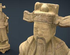 3D asset Ancient Chinese Sculpture