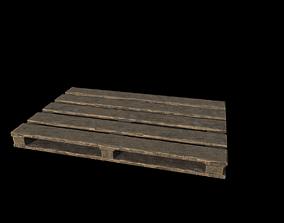 3D model PBR Pallet