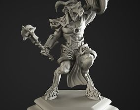 3D print model satyr soldier