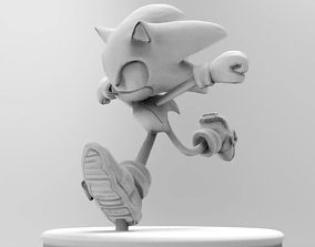 figure Sonic The Hedgehog 3D Printable Figure Model