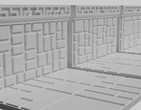 Dwarven Fort Wall Floor Tile 3D printable model