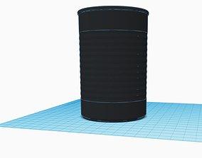 3D printable model Metal Cans