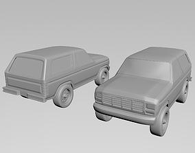 3D print model Ford Bronco 1978