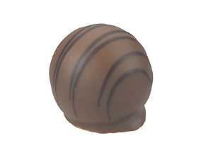 Photorealistic Praline 3D Scan 2 pastry