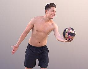 3D model Dan 10481 - Playing Volleyball Man