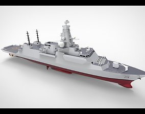 3D Frigate Type 26