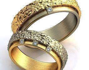 3D printable model Gold Metal Rings gem