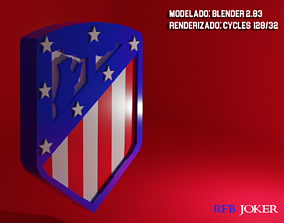 Atletico de Madrid 3D