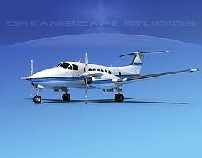 Beechcraft 350 Super King Air V02 3D model